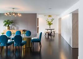 teal dining rooms. Contemporary Dining Room With Teal Upholstered Chairs Rooms