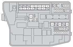 toyota corolla (2012 2016) fuse box diagram auto genius Citroen Berlingo MD at Citroen Berlingo 2012 Fuse Box Diagram