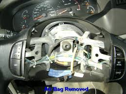airbag steering wheel removal ford truck enthusiasts forums attached images