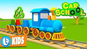 Car School - Xe Ô tô Tránh Tàu Hỏa | Phim Hoạt Hình 3D Đồ Chơi Trẻ Em | phim  ô tô | Tuyển Tập phim mới Hay Nhất - LOGO STYLE