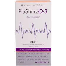 minami nutrition plushinzo 3 aa plex orange flavor 30 softgels discontinued