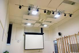 lighting for halls. Installation And Design Of School Hall Led Lighting For Halls