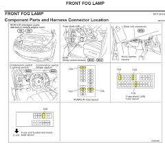 2006 murano the fog lights in canada are being used as daylight nissan rogue fuse box diagram Nissan Rogue Fuse Box #26