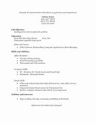 Modele Cv Word De Base Copy Resume Format Awesome Resume Pic