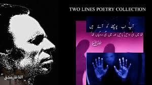 Jaun Elia Top 2 Lines Poetry 2018 Video Dailymotion