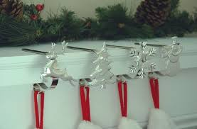 Stocking Scroll Hangers Set Of 2 And Hooks For Christmas Holders Plans 0