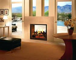 double sided gas fireplace indoor outdoor marvelous absurd log fire installed decorating ideas 38