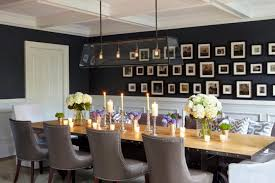gray parsons chair slipcovers with wood table and candle also pendant lighting plus wall art for
