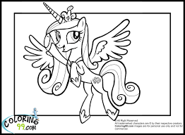 Small Picture Trend Princess Cadence Coloring Pages 61 With Additional Coloring