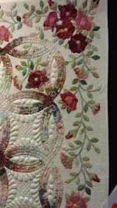 Best 25+ Wedding ring quilt ideas on Pinterest | DIY wedding ring ... & Wedding ring quilt, Rings and Roses by Janet Treen. close up, QuiltWest 2014 Adamdwight.com