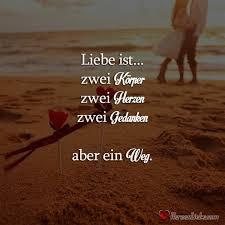 Liebe Ist Zwei Körper Zwei Herzen Zwei Gedanken Aber Ein Weg
