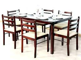 round kitchen table for 6 person dining chairs standard length of