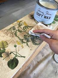 floral decoupage furniture. Floral Inspired Decoupaged Image Transfer Dresser, Decoupage, How To, Painted Furniture #decoupagefurniture Decoupage