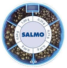 "<b>Грузила Salmo</b> ""<b>Дробинка PL</b>"", 6 секций, стандартные. 1007-ST50"