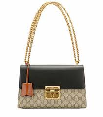 gucci bags prices. padlock gg supreme medium leather and coated canvas shoulder bag | gucci bags prices o