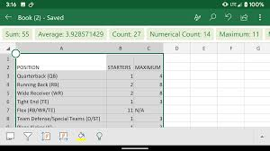 Use Your Phone To Turn A Photo Into An Excel Spreadsheet In