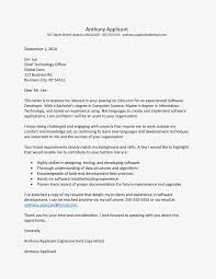 Cover Letter Software Engineer Entry Level Software Developer Cover Letter And Resume Example