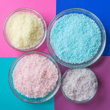 make baked bath salts