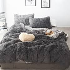 mink velvet bedding sets 20 pure colors lambs wool fleece bed sheet duvet cover set bedclothes fitted sheet queen size comforter sets king turquoise bedding