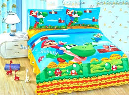 super bed sets set double brothers bedding mario bedroom customize odyssey duvet cover