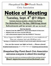 Meeting Announcement Flyer Under Fontanacountryinn Com
