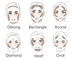 how to contour and highlight for your face shape contouring for oval face makeup for