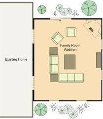 Family Room Addition Floor Plans  AkiozcomFamily Room Floor Plan