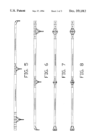 patent usd fishing rod google patents patent drawing