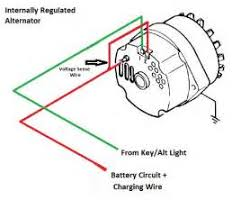 chevy one wire alternator diagram chevy image alternator wiring diagram for chevy alternator auto wiring on chevy one wire alternator diagram