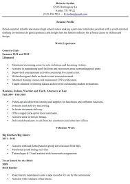 Resume For High School Stunning High School Resume Skills Filename Monacograndprixticket