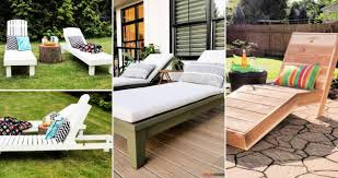 15 free diy chaise lounge plans with