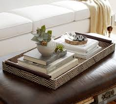 Decorating An Ottoman With Tray Everything Looks Better with a Tray Tray decor Trays and Ottomans 6