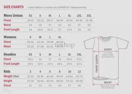 Us Standard Shirt Size Chart