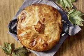 maple en partridge pot pie