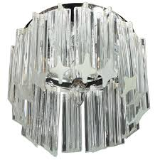 camer glass chandeliers and pendant lights 59 for at 1stdibs mid century modern triedre crystal