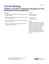 Apes Energy Comparison Chart Pdf Childrens And Apes Preparatory Responses To Two