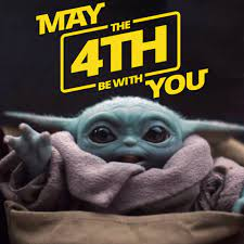 Baby Yoda is wishing you ...