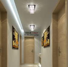 lighting a hallway. 2w crystal ceiling lamps corridor light hallway lamp for home lighting fixture led 220v a