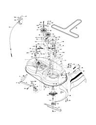 Poulan lawn mower parts diagram pro riding deck belt enticing