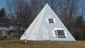Pyramid Houses Pyramid House Cornwall Ontario Canada Image