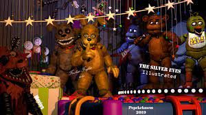 Future at Freddy's (the final FNAF anniversary poster for this year):  fivenightsatfreddys