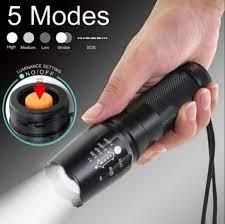 Đèn pin tự vệ cao cấp siêu sáng XML-T6