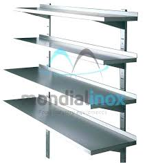 stainless steel kitchen shelves stainless steel shelves stainless steel wall shelves with adjule consoles stainless steel kitchen shelves