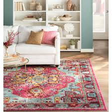 pink area rug nursery rug brown and pink area rug pink aqua rug