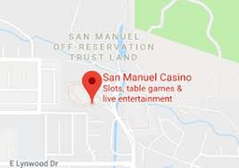 San Manuel Indian Casino Seating Chart San Manuel Casino Most Thrilling Casino In California