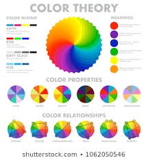 Color Theory Chart Color Meaning Chart Stock Vectors Images Vector Art