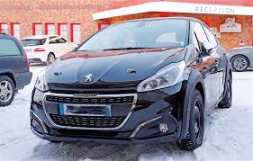 2018 peugeot 208. contemporary 2018 2018 new peugeot 208 spy shot with peugeot