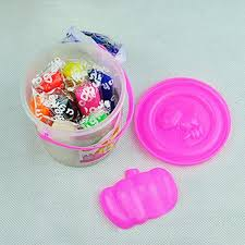 diy handmade rubber clay bucket mud color mold set kids educational toy cod