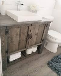 Farmhouse Bathroom Sink Vanity » Warm Farmhouse Bathroom Vanities ...