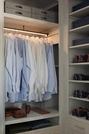 lit closet shelves